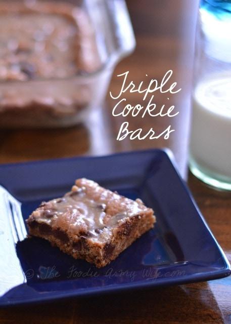 Triple Cookie Bars