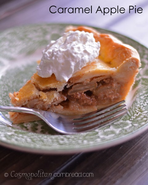 Caramel Apple Pie from Cosmopolitan Cornbread