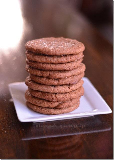 Crispy Nutella Cookies from Cosmopolitan Cornbread