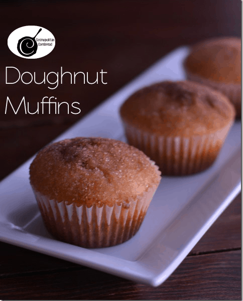Doughnut Muffins from Cosmopolitan Cornbread