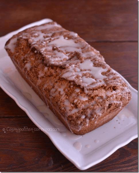 Cinnamon Swirl Quick Bread from Cosmopolitan Cornbread