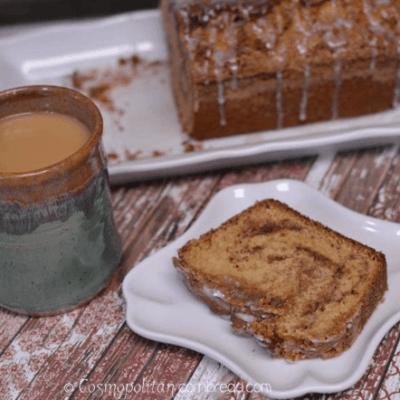 Cinnamon Swirl Buttermilk Quick Bread