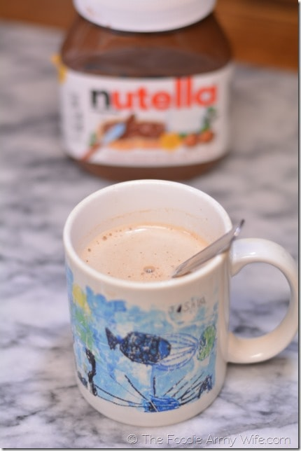 Nutella Lattes