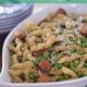 Pesto Pasta with Chicken Sausage from Cosmopolitan Cornbread