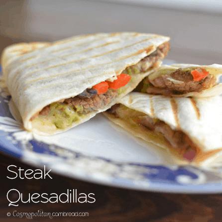 Steak Quesadillas from Cosmopolitan Cornbread