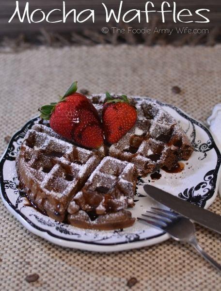 Mocha Waffles