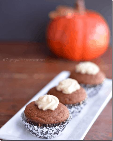 Pumpkin Spice Latte Muffins from Cosmopolitan Cornbread