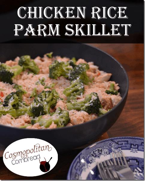 Chicken Rice Parm Skillet from Cosmopolitan Cornbread