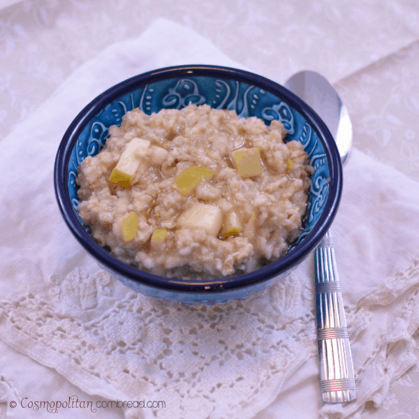 Apple Pie Oatmeal from Cosmopolitan Cornbread