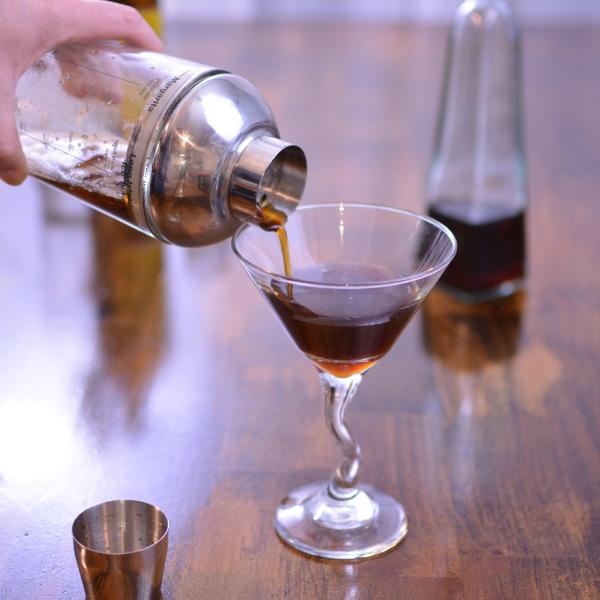 Iced Espresso Martini from Cosmopolitan Cornbread
