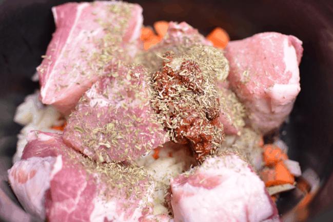 Slow Cooker Pork Ragu from Cosmopolitan Cornbread