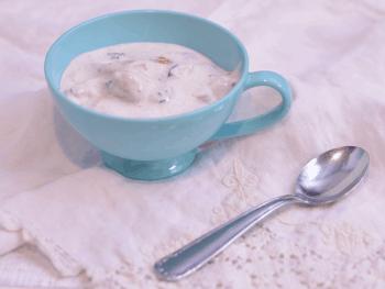 Blueberry Cheesecake Ice Cream from Cosmopolitan Cornbread