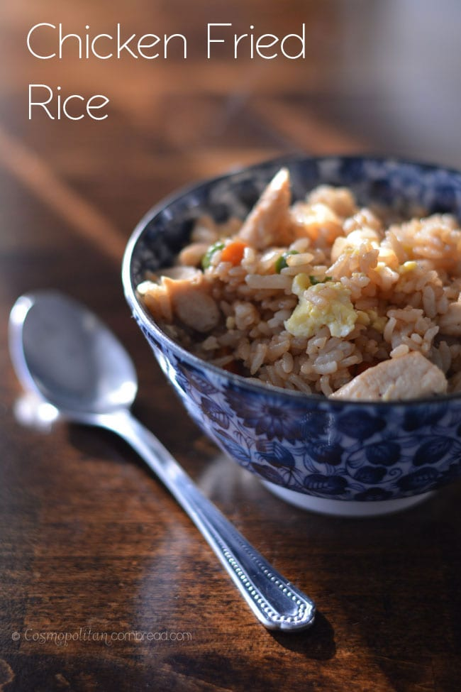 Chicken Fried Rice from Cosmopolitan Cornbread
