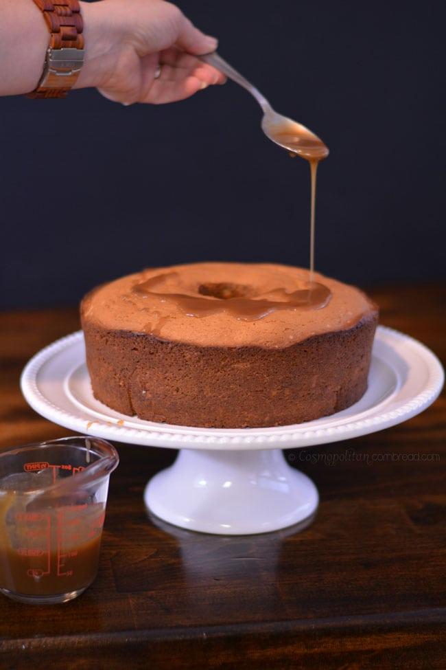 Cinnamon Spice Coffee Cake from Cosmopolitan Cornbread