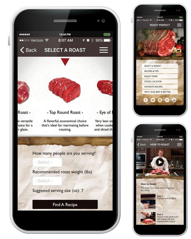 Roast Perfect App by Certified Angus Beef® Brand | Cosmopolitan Cornbread