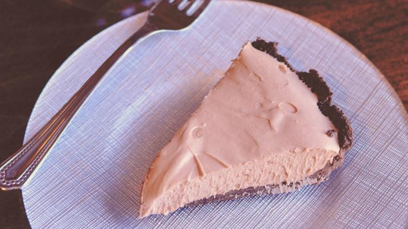 No Bake Nutella Cream Pie