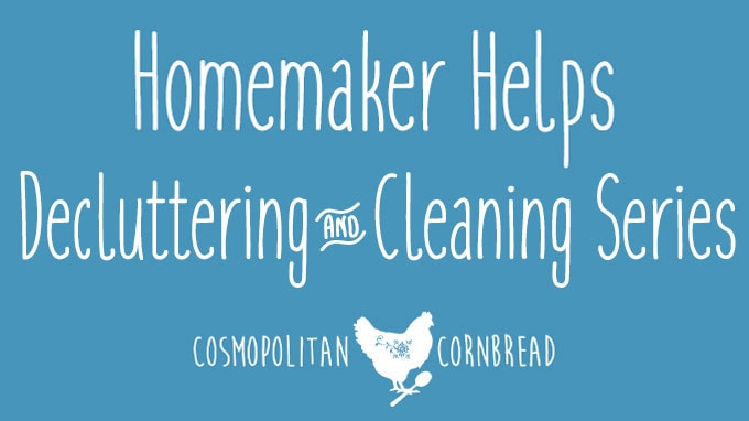 Weekly Decluttering & Cleaning Series | The Cabinets