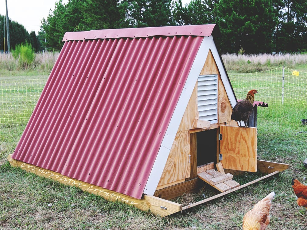 The A-Frame Chicken Sled from Cosmopolitan Cornbread