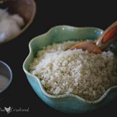 How to Make Homemade Sea Salt Scrub