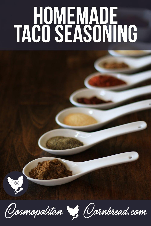 Homemade Taco Seasoning (with Paleo Version)