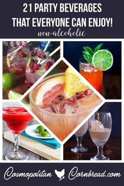 Party Beverages that Everyone Can Enjoy for the Holidays (Non-Alcoholic)