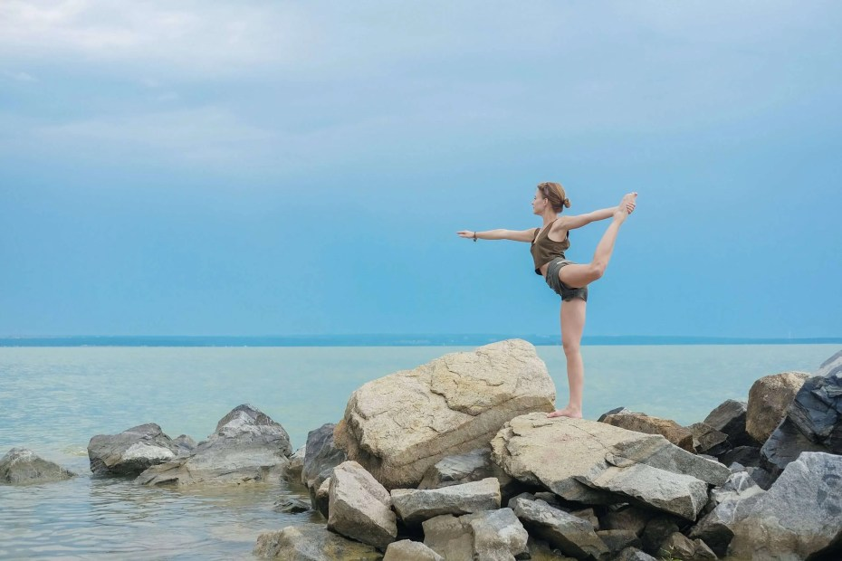 Woman learning how to achieve flexibility and more free time