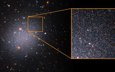 Sometimes, the Dark Matter Really Isn't There