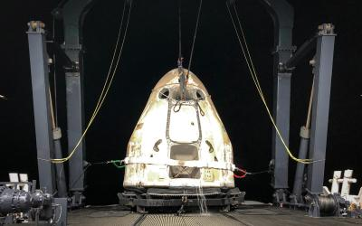 Fifth Dragon 2 to Return to Earth in 2021 Splashes Down