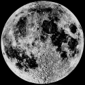 An Image of the full moon.  Image from UC Regents/Lick Observatory, Educational Use.