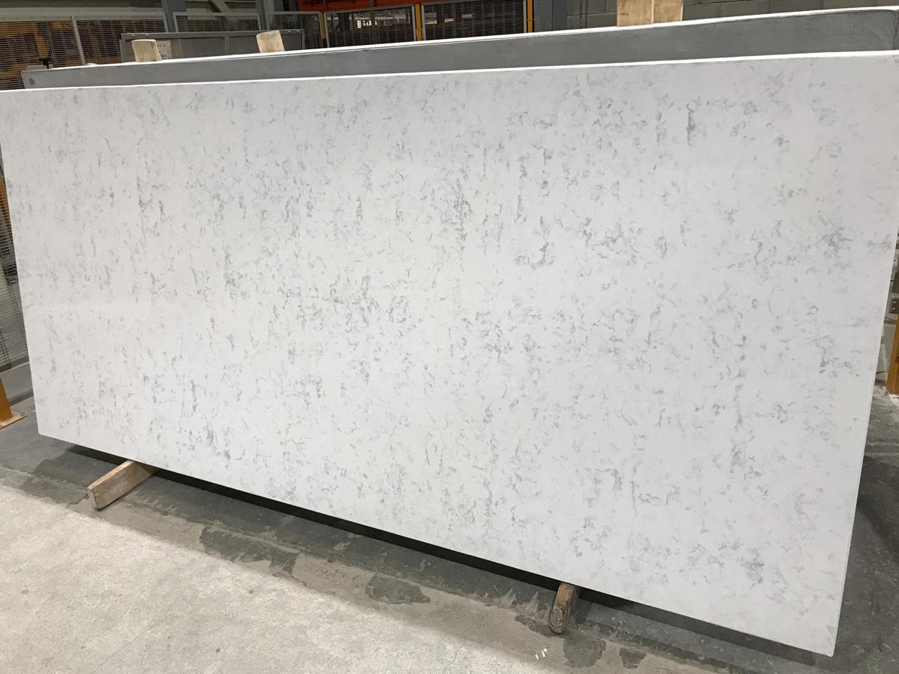 super white cq 3cm quartz slabs