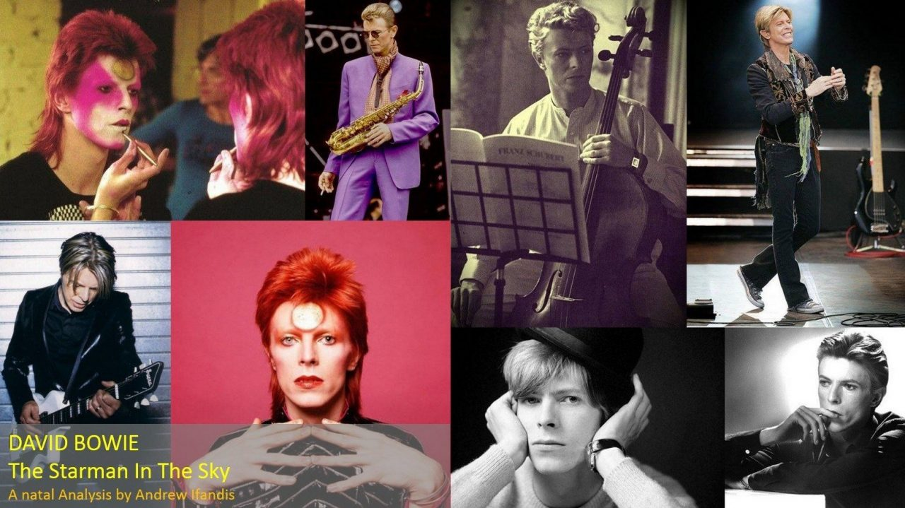 David Bowie Cosmos Of Astrology