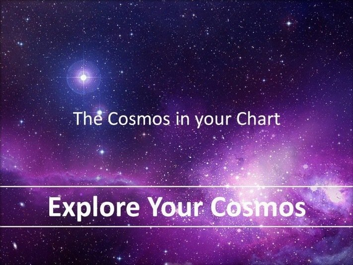 Explore your Cosmos (Natal Chart Reading)