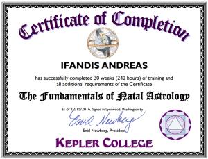 Andrew Ifandis Kepler
