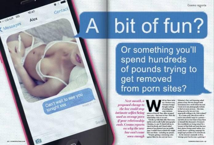 Cosmopolitan's Revenge Porn feature