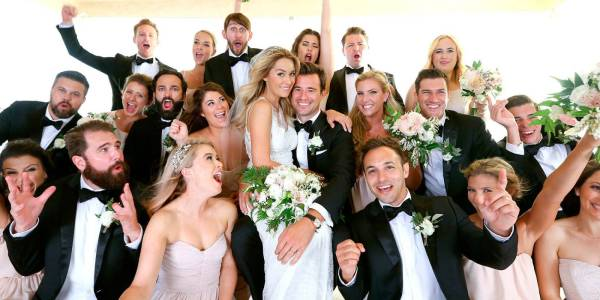 PICTURED: Lauren Conrad's wedding photos have arrived at last!