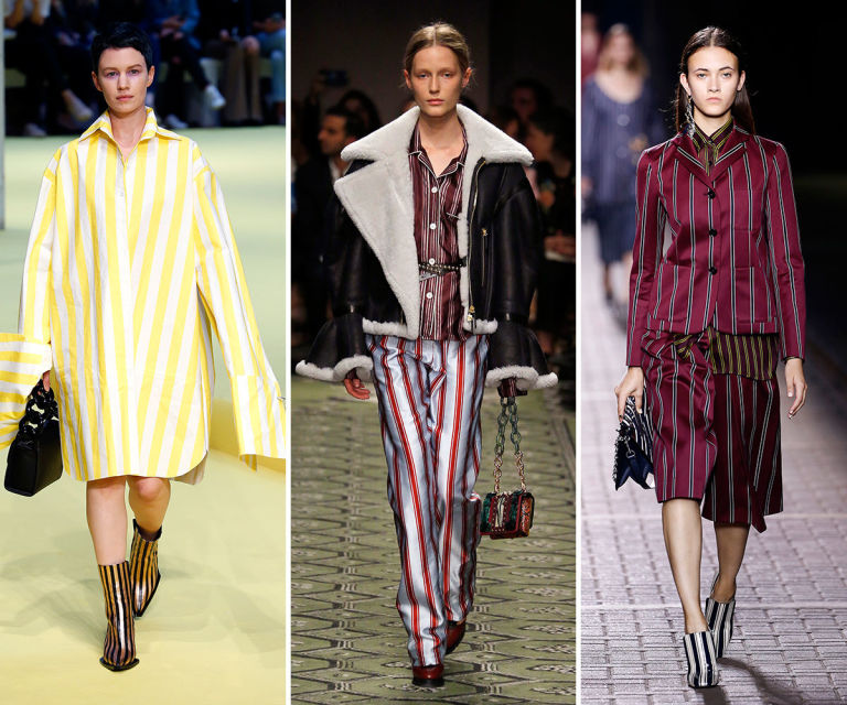 Spring summer trends 2017: stripes