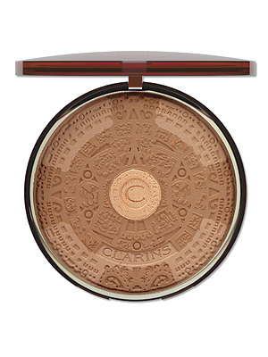 Clarins' limited edition bronzers are like summer in your hand. This year's embossed powder creation combines matte terracotta and soft beige with a glimmering gold heart, for a touch of complexion reflection. Pricey - yes, but this supersized buy will outlast its limited edition availability to be the hero of your beauty bag. £30, Clarins