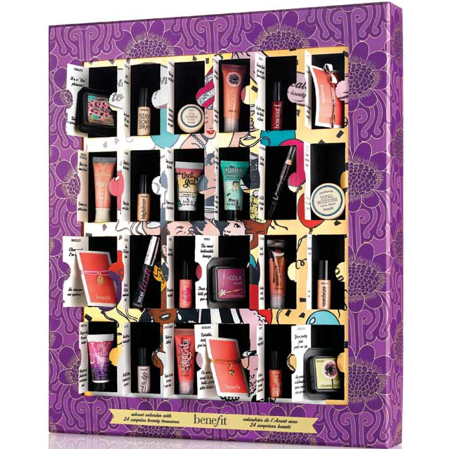Benefit launch beauty advent calendar with flash sale