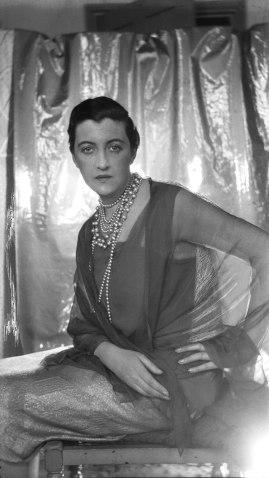 Dolly Wilde en un famoso retrato