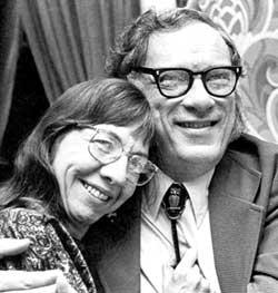 Isaac y Janet, su segunda esposa