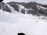 Panorama from chairlift at Peak 8