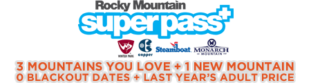 Rocky Mountain Super Pass Plus