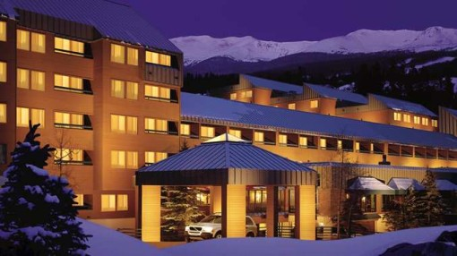 DoubleTree by Hilton located at the base Breckenridge.