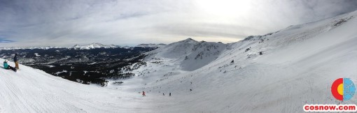 Top of Peak 6 at Breckenridge