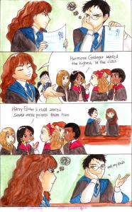 La rivale accademica di Potter by dinosaurusgede