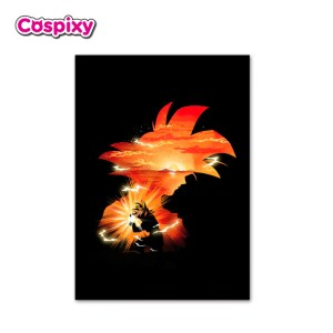 Saiyan Son Goku - Akuro Design Poster