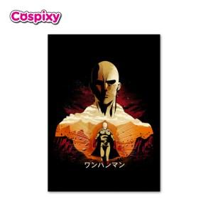 One Punch Man Saitama Poster