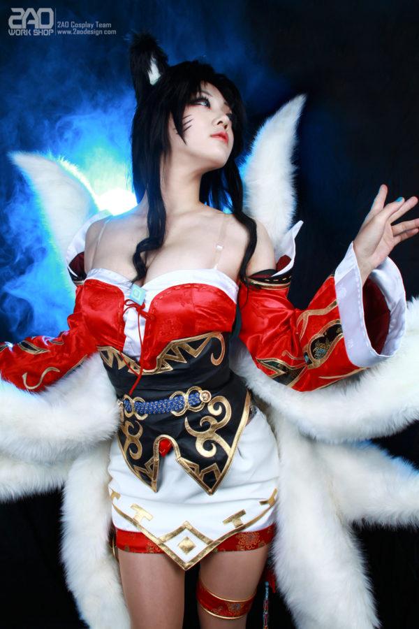 #EroCosplay Miyuko – Sexy-Ahri (cosplay.ero.darkp.com)