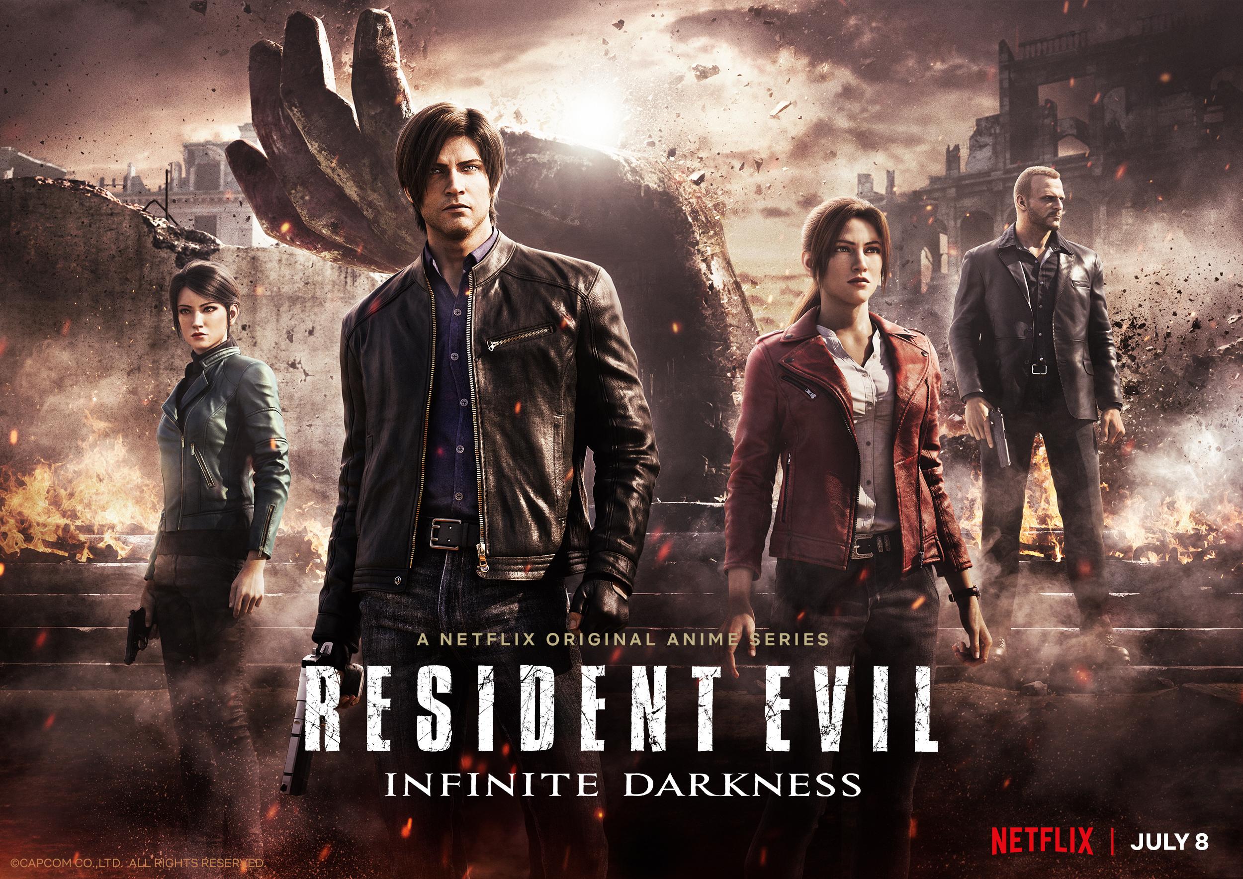 Resident Evil: Infinite Darkness Key Art