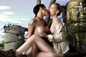 Sex and boob eye illusions